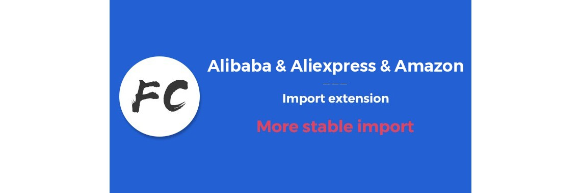 Alibaba product & Aliexpress product import